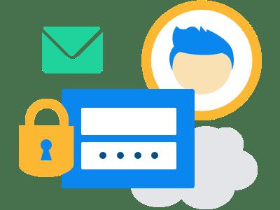 Account aanmaken - software